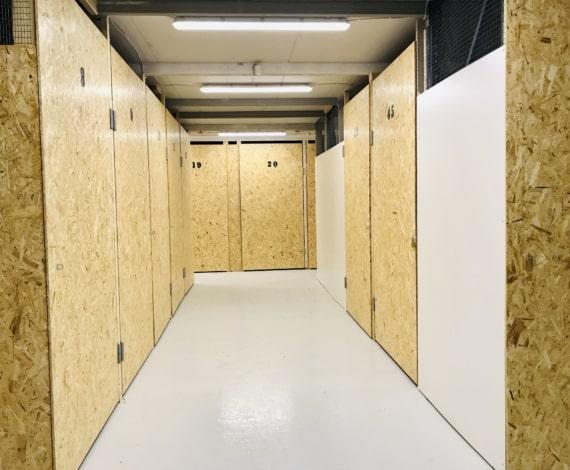 opvarmede lagerhaller